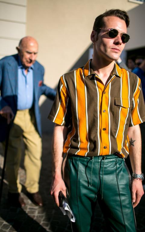 Retro Style Fashion Men