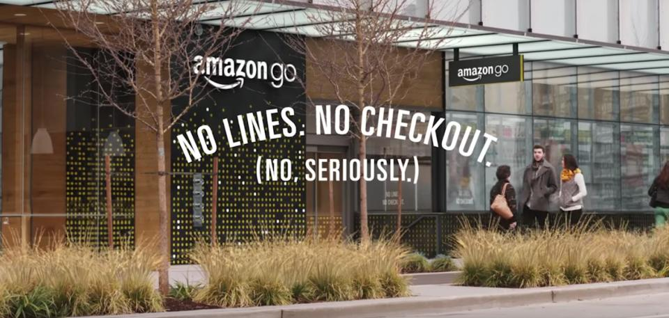 amazon go -chechkout less store