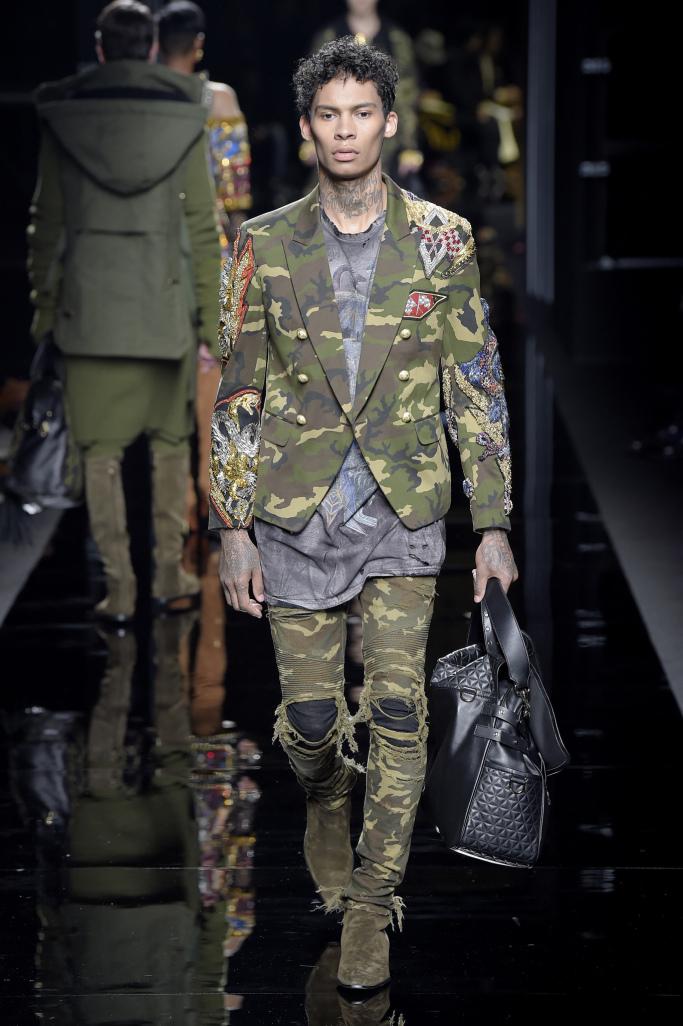 Mens military fashion trend 87