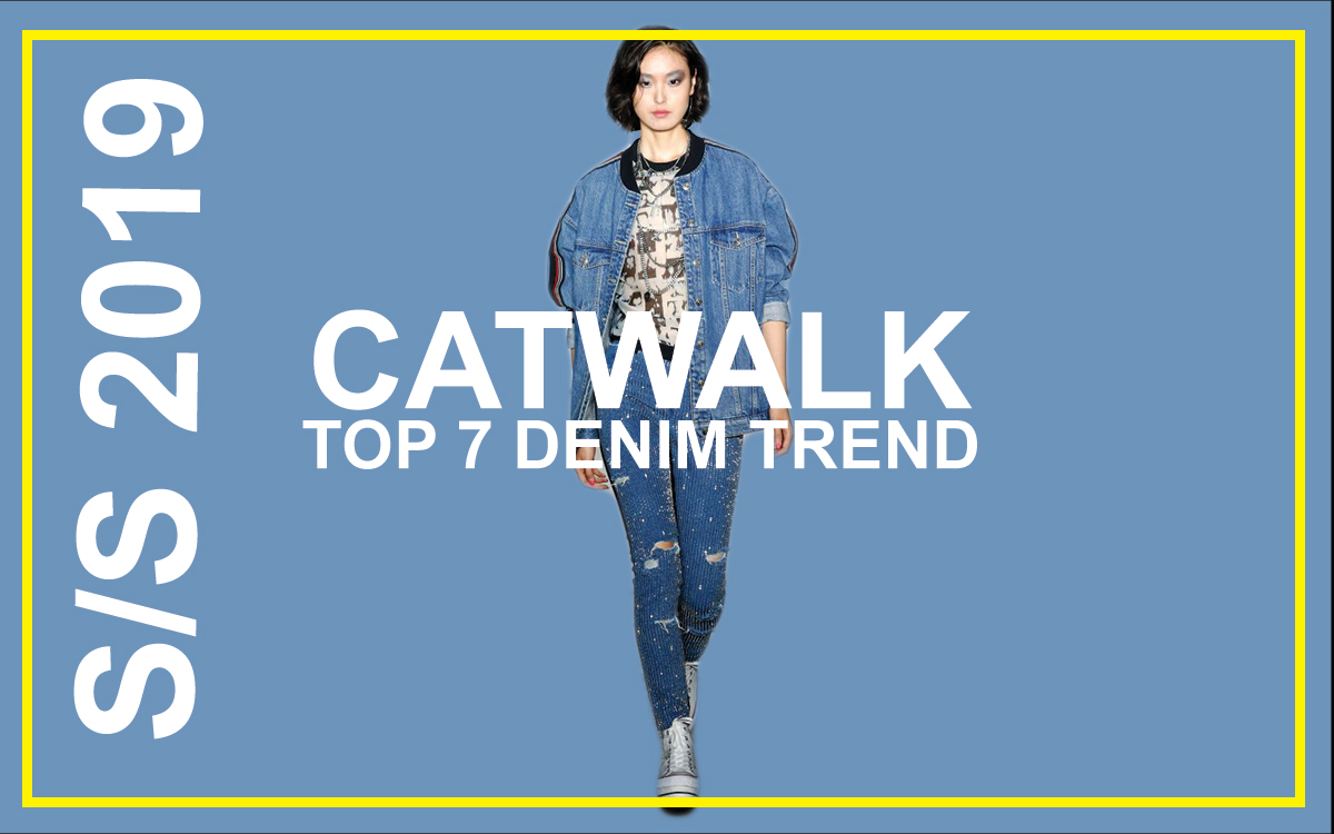 Top 9 Commercial Denim Trend Spring Summer 2019 Runway F Trend