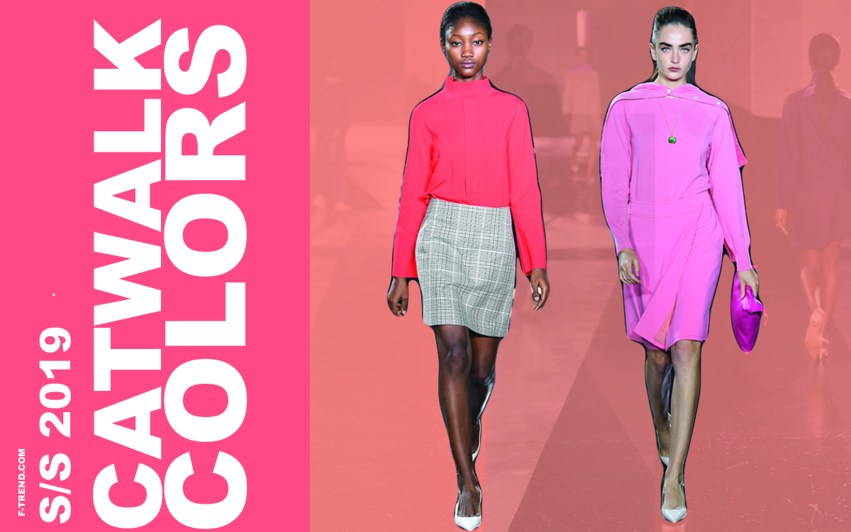 Top 7 Spring Summer Catwalk 2019 Color Trend F Trend