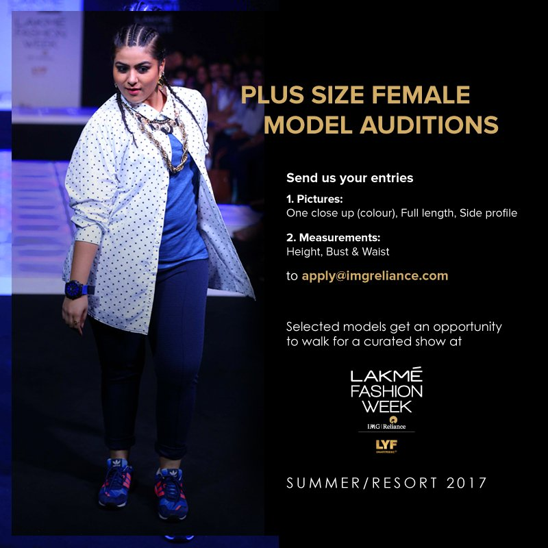 Plus Size model audition