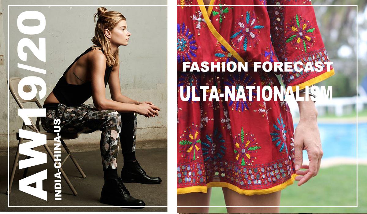 fashion forecast AW 2019/20-The ultra Nationalist: India