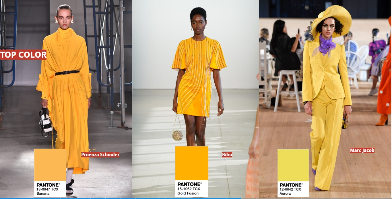 Summer Trends 2020.9 Must Have Spring Summer 2020 Color Trends From Catwalk F