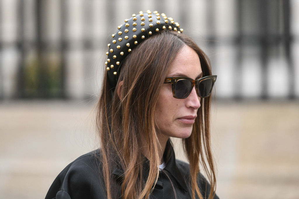 Head band from Paris fashion week