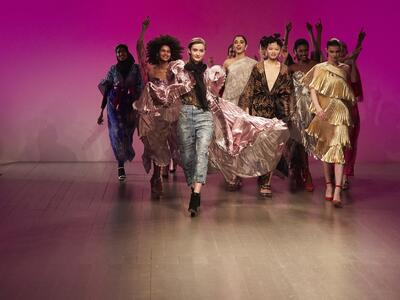 The British fashion council announces London fashion week Festival Line 2018