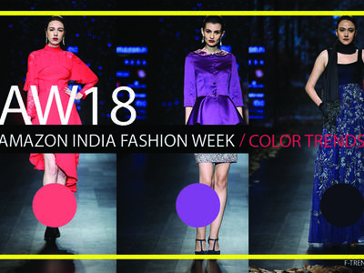 Color Trend: Amazon India fashion week AW18