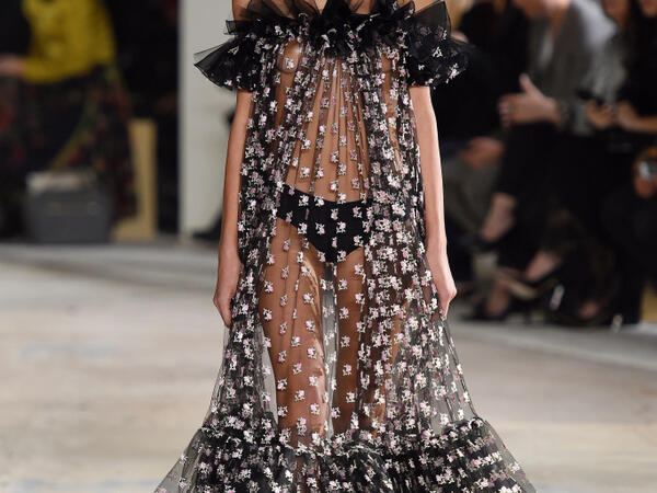 Trend Transparencies- Paris fashion week SS18