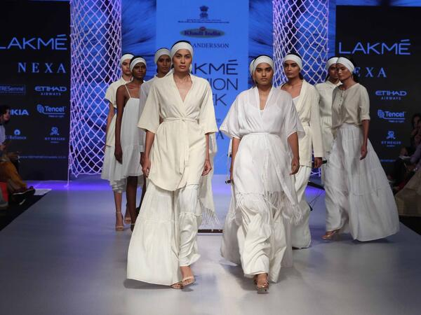 Lakme fashion week winter festive 2018 day 2 trend