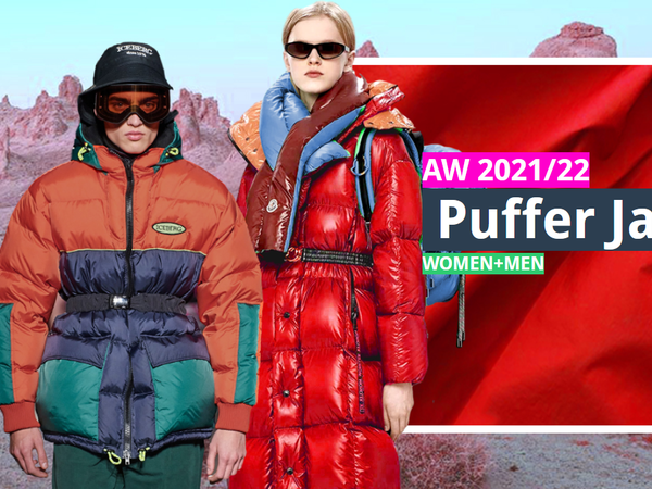 Key AW 2021/22 Puffer Jacket trends Insights