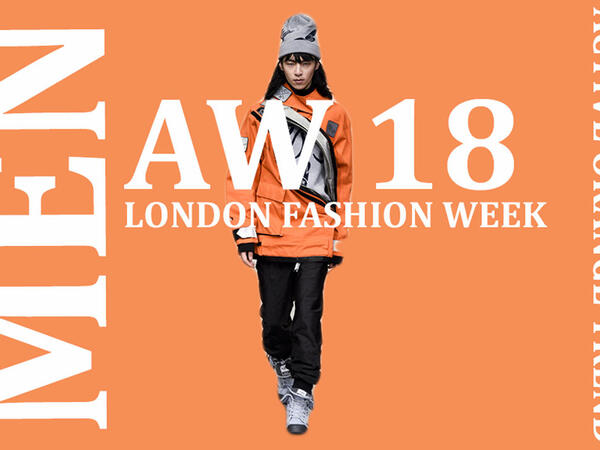 Active Orange: London Men's fashion week Key Color Trend