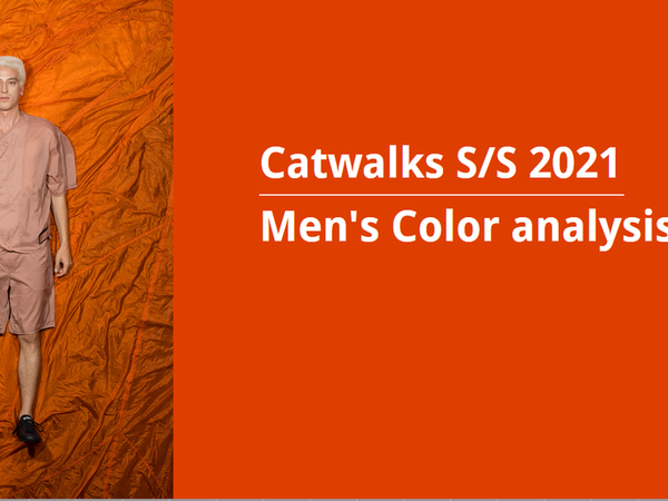 Men's Color analysis --  Catwalks S/S 2021