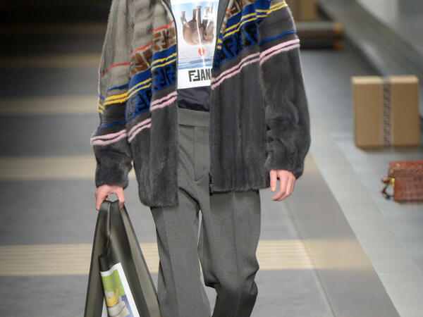 Fendi Men's Fashion week AW18: Milan
