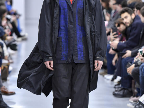 Issey Miyake Men's AW18 fashion week: Paris