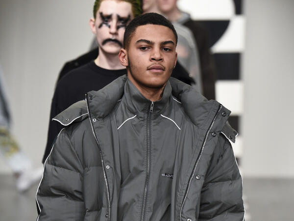 Liam Hodges Men's London fashion week AW18