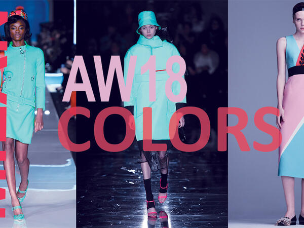 Color Trend: Milan fashion week A/W18