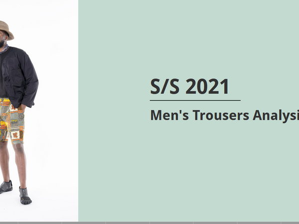 Men's Trousers Analysis-- S/S 2021