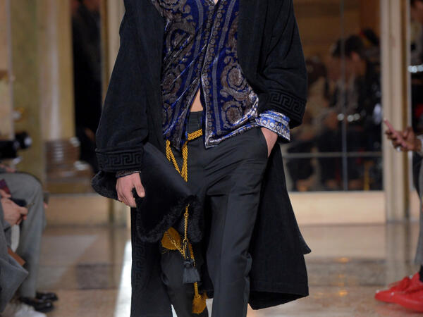 Versace Men's A/W18 Milan fashion week