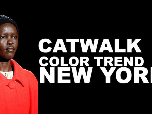 catwalk color trend