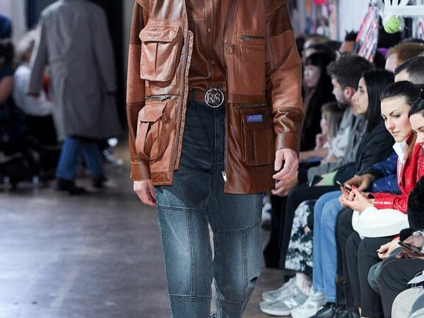 Leather Trend analysis: London A/W 2020