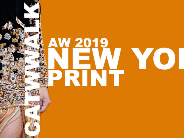 Prints: New York fashion week AW 2019